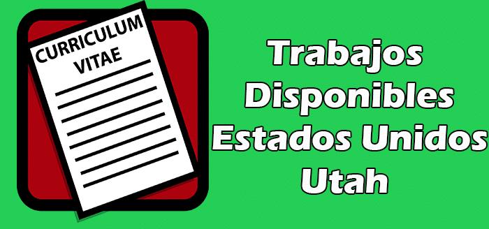 Trabajos en Utah en Español Empleos Inmigrantes