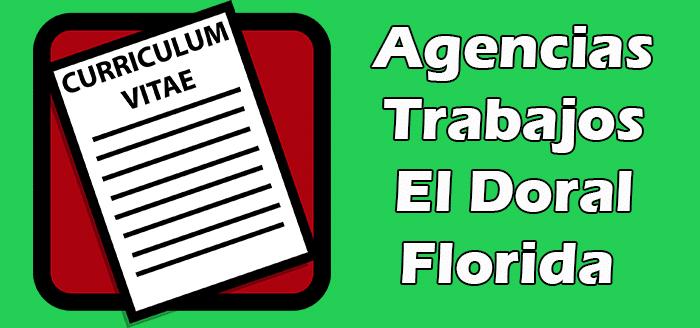 Agencias de Empleos en El Doral FL
