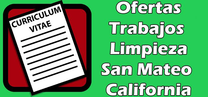 Trabajos Disponibles de Limpieza en San Mateo CA  Empleos
