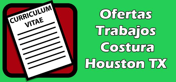 Trabajos Disponibles de Costura en Houston TX 2020