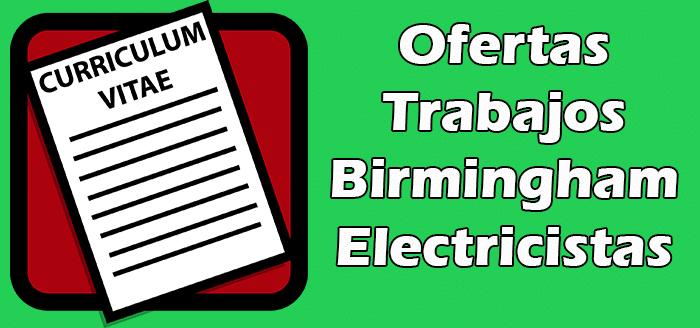 Trabajos Disponibles en Birmingham de Electricistas 2020