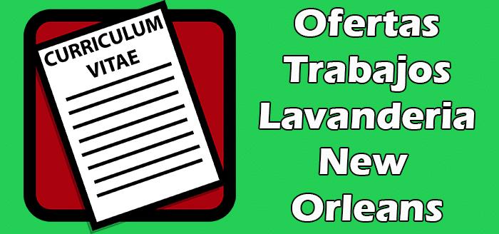 Trabajos de Lavanderia en New Orleans